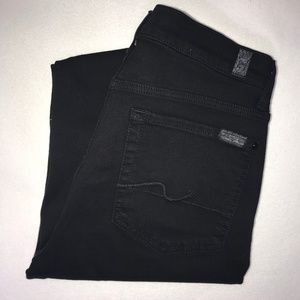 7 for All Mankind Gwenevere High Ankle Jeans 31 28